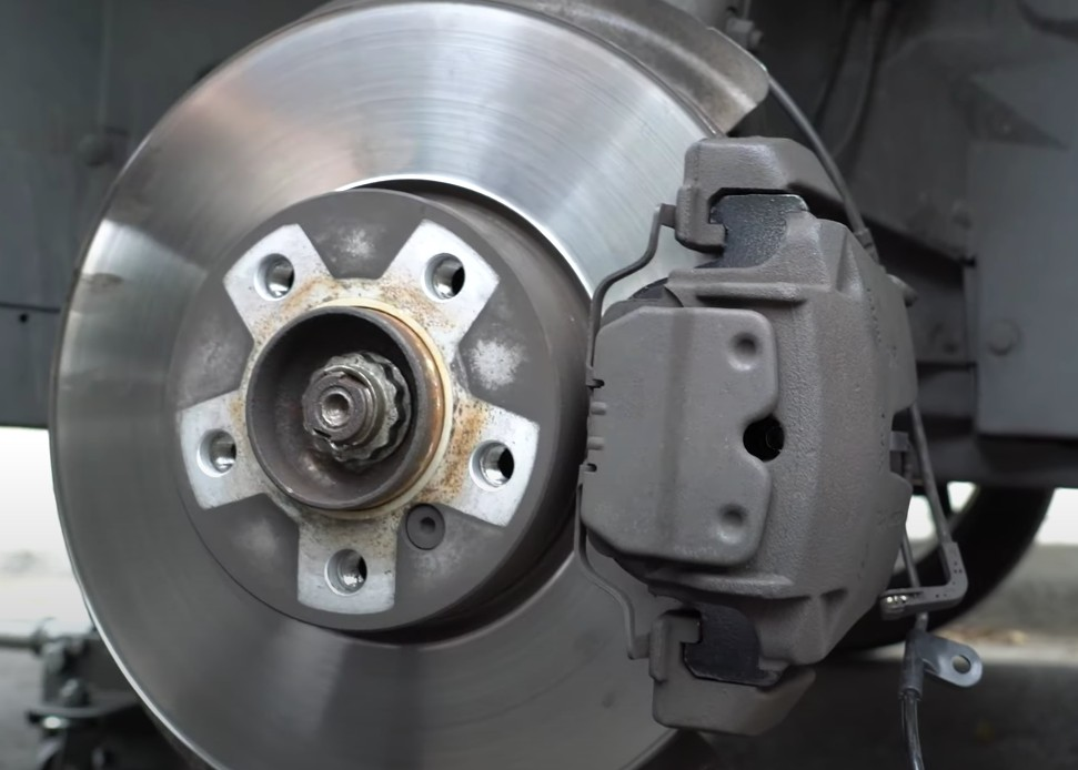 Completed disc brake job by mobile mechanic in Anaheim, CA.